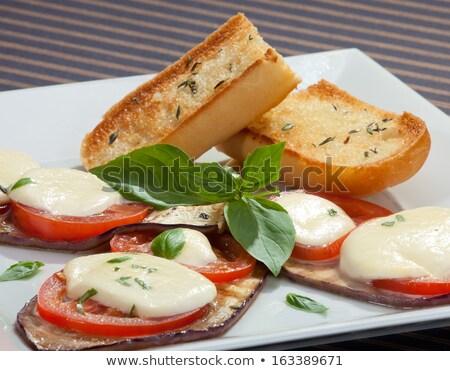 Grilled slices of aubergine Stock photo © Alex9500
