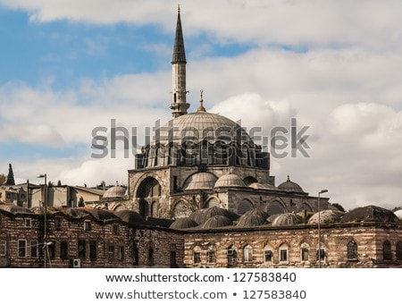 мечети Стамбуле интерьер здании окна Европа Сток-фото © borisb17