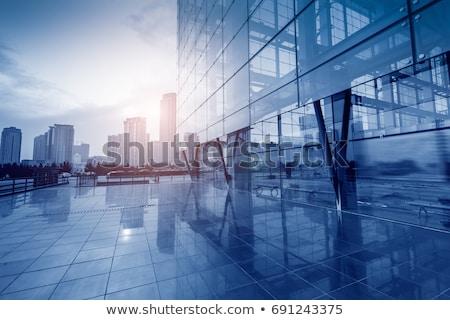 facade glass panel abstract background Stock photo © sirylok