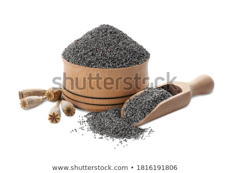 poppy seed in bowl Stock photo © jirkaejc