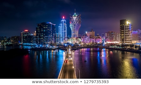 Macau at night Stock photo © leungchopan