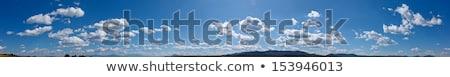 Панорама · небе · красивой · облака · аннотация - Сток-фото © pzaxe