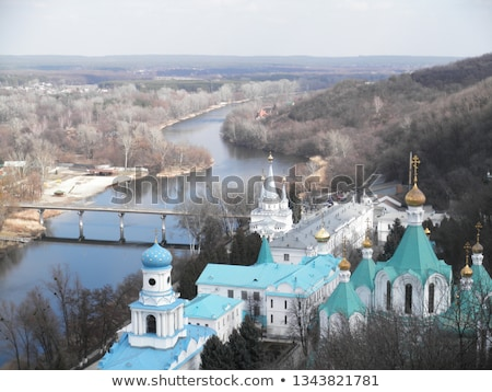 Svyatogorsk monastery  Stock photo © OleksandrO