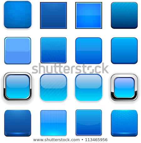 Stock photo: Tag Blue Vector Icon Design