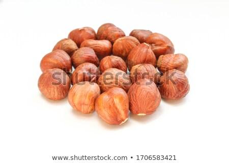 dried hazelnut stock photo © dionisvera