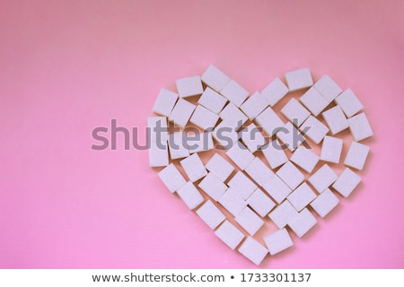 Lump sugar Stock photo © restyler