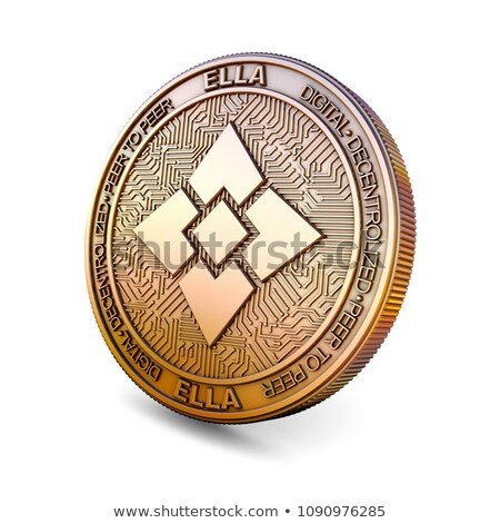 Ellaism - Cryptocurrency Coin. 3D rendering Stock photo © tashatuvango
