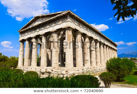 Temple Athènes vue anciens Photo stock © fazon1
