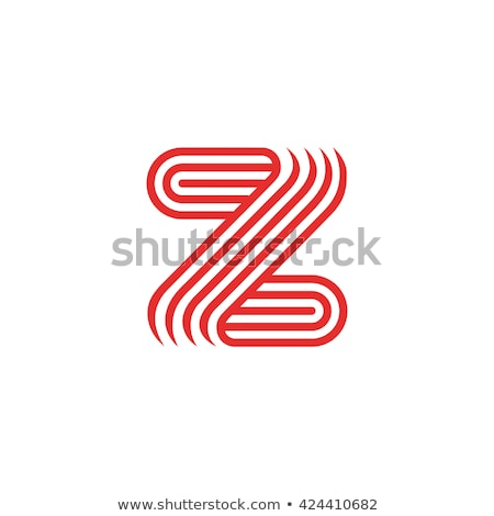 Tarjeta de visita brillante lineal icono plantilla masculina Foto stock © robuart