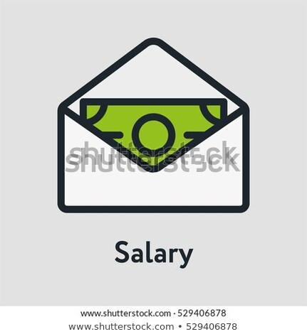 Invoice Message In Envelope And Dollar Vector Icon Stock photo © pikepicture