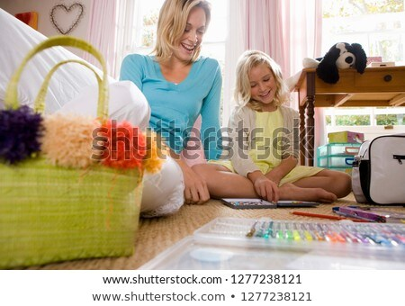 3 draw colour children adult level 3 Stock photo © Olena