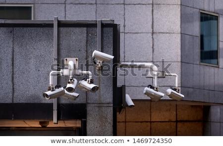 CCTV surveillance camera in Singapore Stock photo © dmitry_rukhlenko