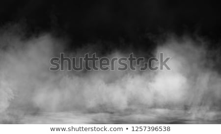 Abstract fume pattern on white Stock photo © Arsgera