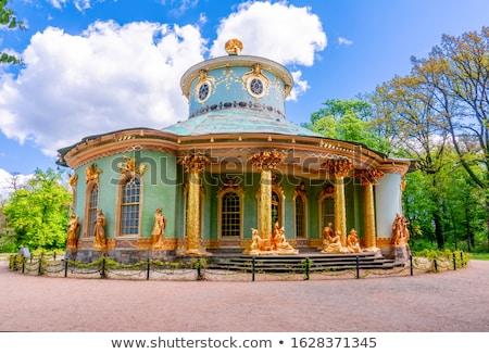 Tea house in park Stock photo © Grafistart