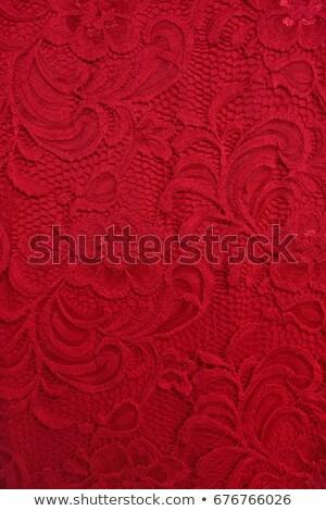 red lacing Stock photo © dolgachov