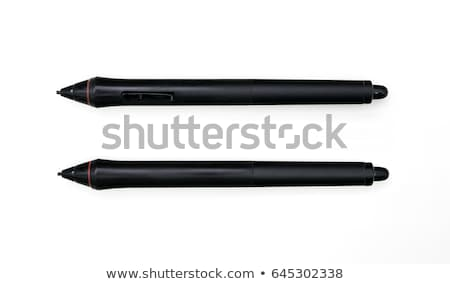 Graphic tablet with pen Stock photo © magraphics