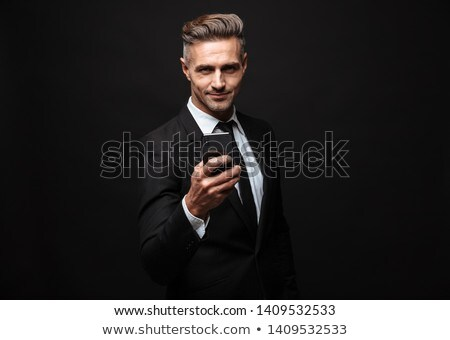 handsome businessman on the phone Stock photo © photography33