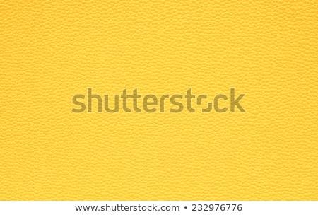 giallo · pelle · primo · piano · abstract · mobili · colore - foto d'archivio © homydesign