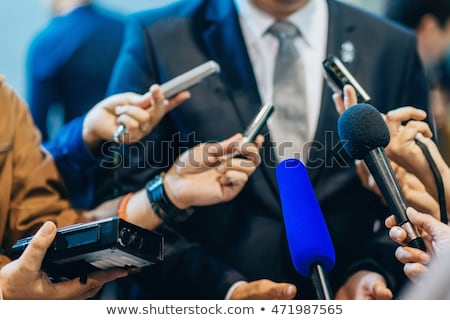 Stock photo: Public relations