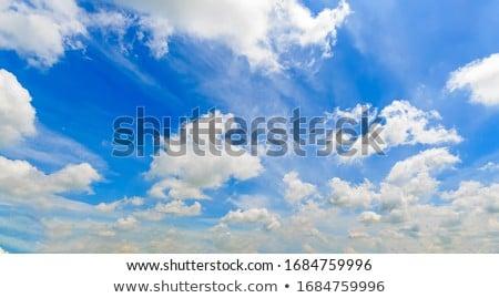 cumulus clouds dramatic blue sky cloudy Stock photo © lunamarina