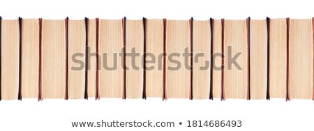 Text books piled up Stock photo © zzve