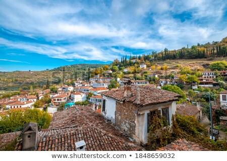 Bahar şarap doğa çatı tepe perspektif Stok fotoğraf © emirkoo