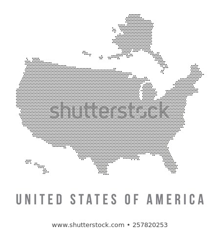 Harita ABD Colorado nokta model vektör Stok fotoğraf © Istanbul2009