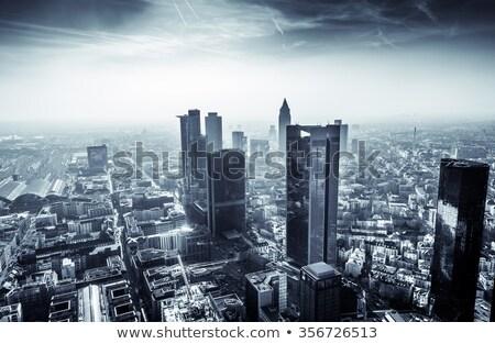 город Франкфурт Германия Сток-фото © meinzahn