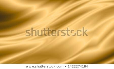 золото шелковые шаблон красивой современных дизайна Сток-фото © zven0