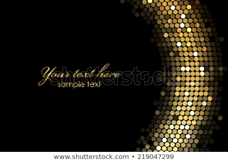 Luxe zwarte goud christmas Stockfoto © Illia