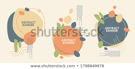 Empty Geometrical Shapes with Copy Space Banners Stock photo © robuart