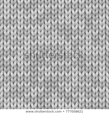 szürke · plüss · pléd · textúra · meleg · kényelmes - stock fotó © lana_m