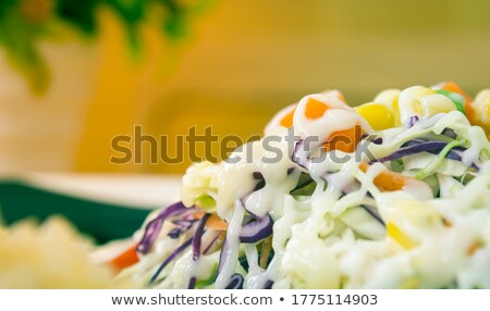морковь салата красный Салат растительное Сток-фото © boggy
