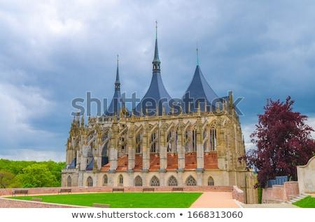 Cathedral of St. Barbara, Kutna Hora, Czech Republic Stock photo © phbcz