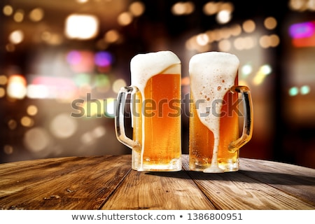 Draught beer Stock photo © colematt