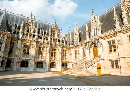 Rouen Palace of Justice, France stock photo © borisb17
