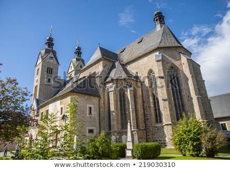 Austria famoso grande peregrinación iglesia estilo Foto stock © borisb17