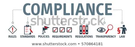 Business rule concept banner header. Stock photo © RAStudio