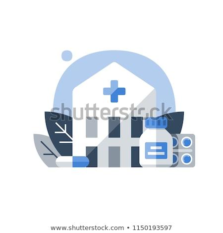 Drug rehab center concept vector illustration. Stock photo © RAStudio