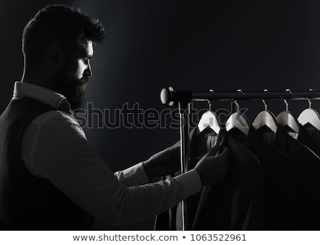 Gentlemen in elegant suits Stock photo © jossdiim