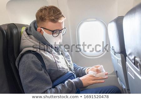 Stop Flight Airplane Covid-19 Coronavirus Stock photo © -TAlex-