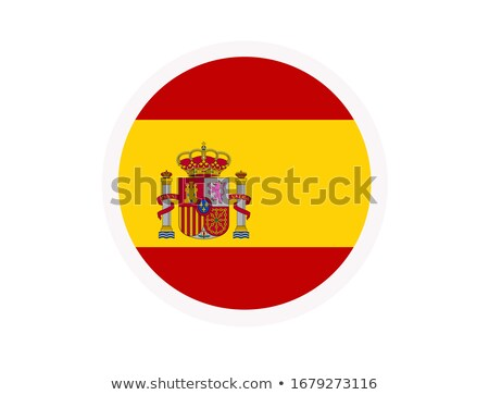 細菌 コロナウイルス スペイン国旗 モデル 急速 19 ストックフォト © artjazz