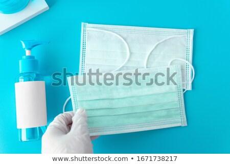 Coronavírus proteção médico máscaras luvas mão Foto stock © Illia