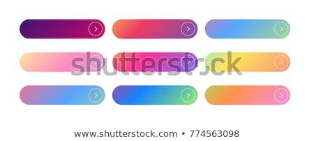Ayarlamak eğim düğme simgeler dizayn ışık Stok fotoğraf © ShustrikS
