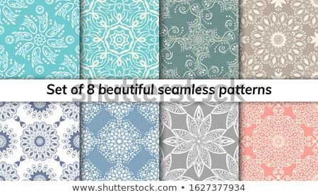 Mandala patroon ontwerp indian jongen illustratie Stockfoto © bluering