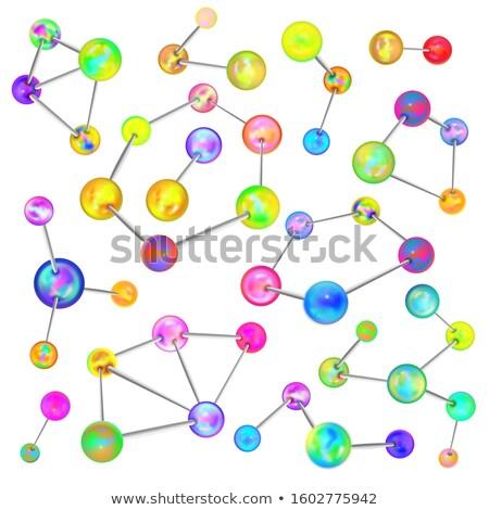 セット 明るい 異なる 化学 アトミック ストックフォト © evgeny89