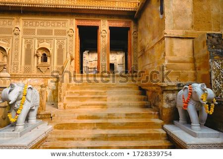 Laxminath Temple inside Jaisalmer Fort. Jaisalmer, Rajasthan, India Stock photo © dmitry_rukhlenko
