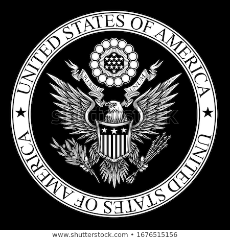 USA seal Stock photo © lirch