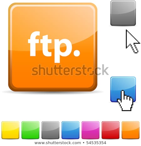 Cursor ftp Stock photo © cla78