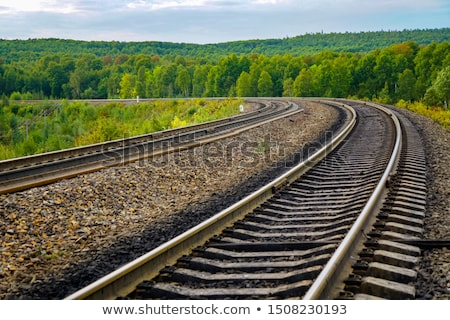 Tracks Bend Stock photo © bobkeenan